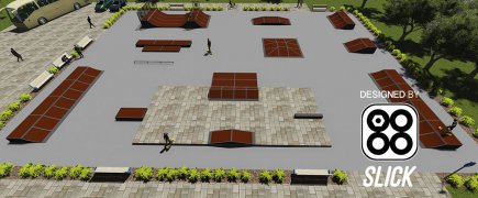 New! Plaza Type Skate Parks